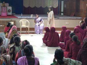 Seva at Swaminarayan